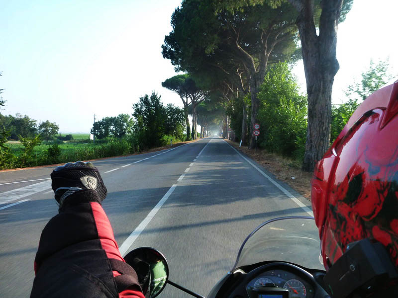 around the europe by bike